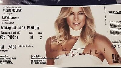 helene fischer konzert ticket d sseldorf die stadion. Black Bedroom Furniture Sets. Home Design Ideas