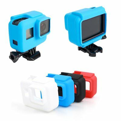 Soft Cover Silicone Camera Housing Protective Case for Gopro Hero Side Frame CH