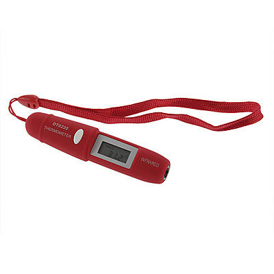 Non-Contact Infrared Temperature Mini Pocket IR Thermometer Pen +Battery CH