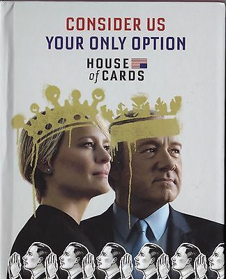 New Genuine HOUSE OF CARDS Complete Season 5 EMMY 2017 4 DVD Kevin Spacey