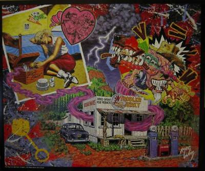 Robert Williams The Thing In The Hope Chest Poster