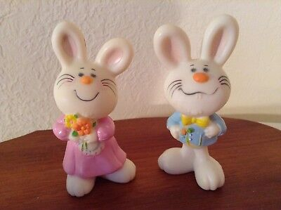 Hallmark Merry Miniatures  Easter.  Bernadette and Barnaby