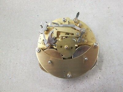 Hermle Ship's Bell Clock Movement 132-071 SG  Running & Striking Cond. 5 Jewels