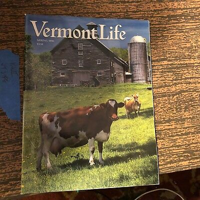 VERMONT LIFE Magazine History Rare Spring 1998 Rochester Cabot Cemeteries