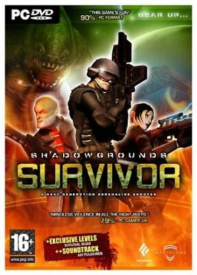 Shadowgrounds Survivor (PC DVD) PC 100% Brand New