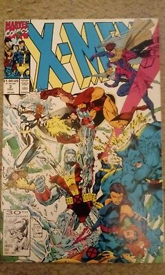 X-Men 1St Series 1991 Issue #3 Marvel Comics, Mint Condition In Protective Bag