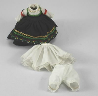 """Lot Of Vintage Madame Alexander- 8"""" Doll Clothes DRESS slip -Bloomers-Finland"""