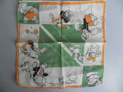 Vintage 1950's ? POPEYE HANDKERCHIEF Olive Oil and Others UNIQUE