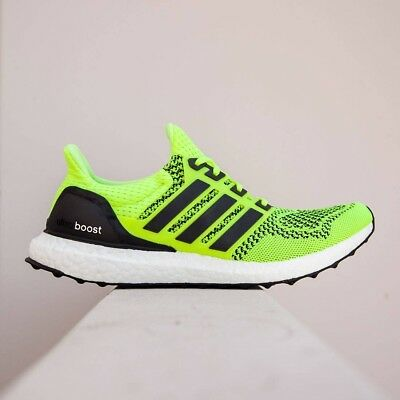 d60a47afd ADIDAS ULTRA BOOST 1.0 Solar Yellow Size 7. S77414 yeezy nmd pk ...