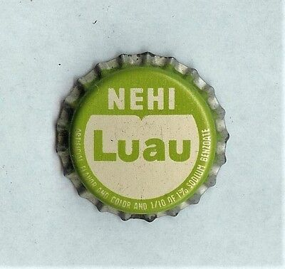 Nehi Luau Unused Cork Soda Bottle Cap Royal Crown Columbus Georgia