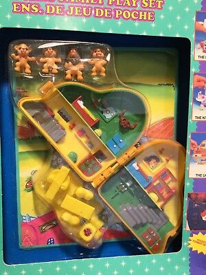"""Polly Pocket Style Lion King """" The Lion, Le Lion"""" Family Play Set French?"""