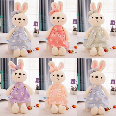 Cute Bunny Rabbit Stuffed Animal Plush Toy Baby Kids Appease Bed Pillow Toy Gift