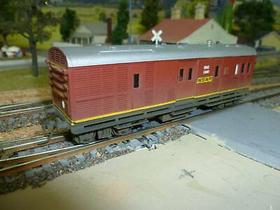 HO scale NSW Railway highly detailed MHG Guards Van - (See photos)