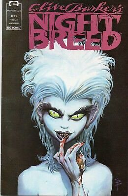 Epic Clive Barker's Night Breed #8 (Mar. 1991) High Grade