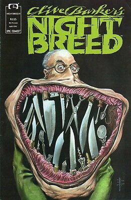 Epic Clive Barker's Night Breed #9 (Apr. 1991) High Grade