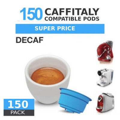 Decaf - 150  Coffee Capsules Caffitaly Compatible by Best Espresso