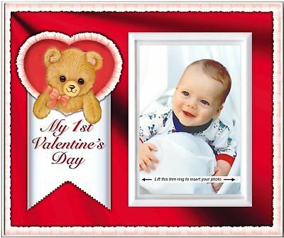 Baby's First Valentine's Day Picture Frame Gift and Nursery Decor | Affordable,
