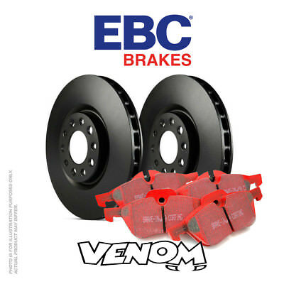 EBC Front Brake Kit Discs & Pads for TVR 400 4.0 Supercharged 1989