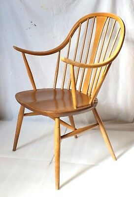 Ercol chair model 514 windsor bow cowhorn chairmaker armchair carver may deliver