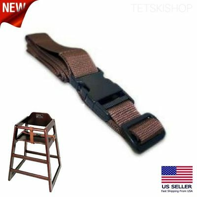 Winco CHH-3 Baby High Chair Security Straps Seat Belt Harness Buckle Replacement