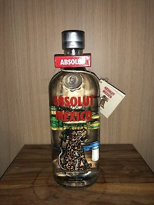 Absolut Vodka Mexico 750ml full and sealed Mexico Version mit TAG Redcap