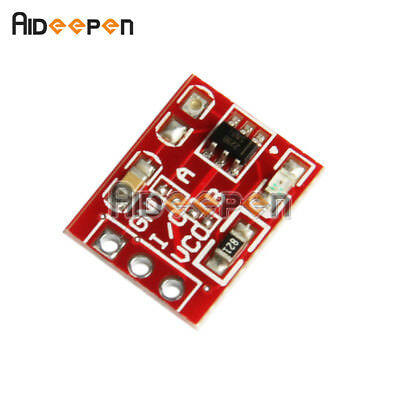 2PCS Red TTP223 Capacitive Touch Switch Button Self-Lock Module for Arduino