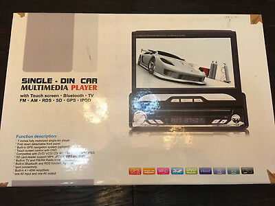 Single Din Multimedia Player Car