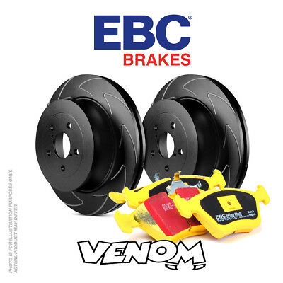 EBC Rear Brake Kit Discs & Pads for VW Golf Mk6 5K 2.0 Turbo R PR-1ZK 270 09-13