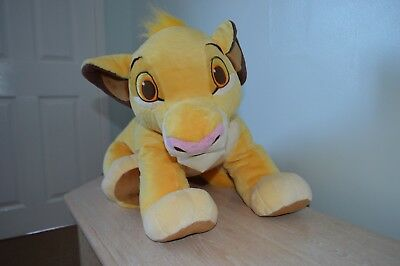 Disney Store Uk Large Cuddly Simba Lion King Soft Toy- Perfect Condition