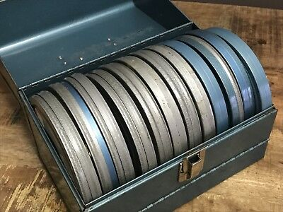 Vintage 1950's 1960's Film Reel LOT - 12 Family 8mm HOME MOVIES Vacation Travel