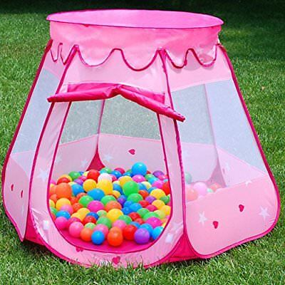 Pink Girls Princess Kids Tent Indoor Outdoor Children Active Game Play Toys New : childrens princess tent - afamca.org