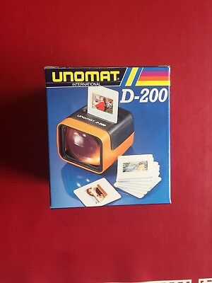 DIA Bilder Projektor-UNOMAT-D-200-Made In Germany-RAR-Sammler-DDR-NEU-