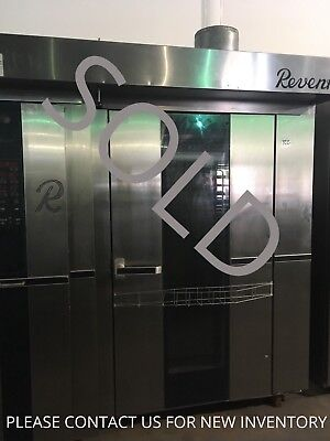 Revent 724 Double Rotating Rack Oven Gas