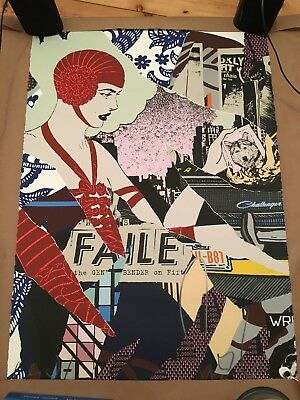 Faile Night Bender 2015 Shepard Fairey Obey Invader Kaws D*Face