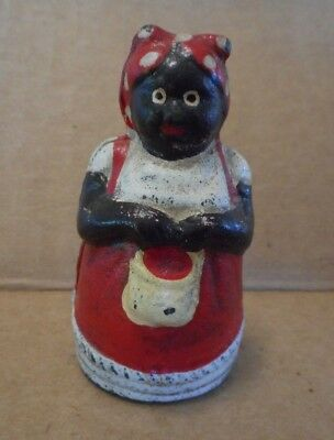 Cast Iron  Aunt Jemima Mammy Dime Bank Vintage?