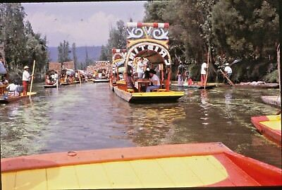 Vintage 35mm Photo Slide Lot #6 Mexico Mexican Vacation Trip Latin America