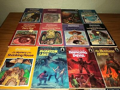 Alfred Hitchcock & The Three Investigators lot of 12 books Random House Vintage