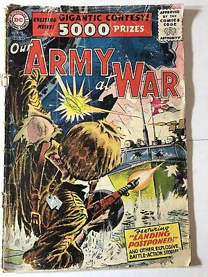 Our Army at War #49 1956 Low Grade