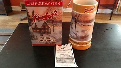 2013  Leinenkugel's Evening Companions Holiday Stein New Great Christmas Gift!!