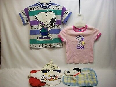 Snoopy Peanuts 6 pc clothing kids/baby