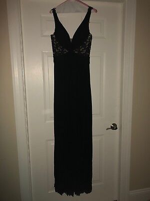 sherry hill prom dresses size 6  black  formal