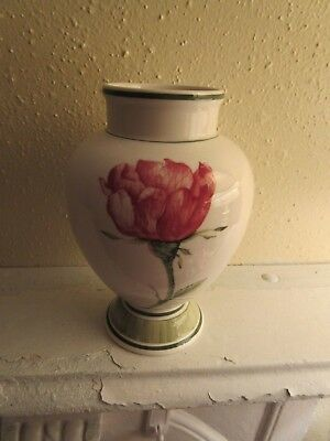 Villeroy & Boch Vase Shabby Pink Roses Luxembourg Germany Shabby Cottage
