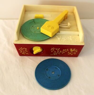 Fisher & Price Music Box - Record Player 1971 Good working order