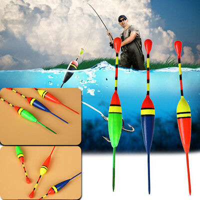 3Pcs Fishing Floating Buoy Gear Outdoor Sports Vertical Fish Floats Tackle