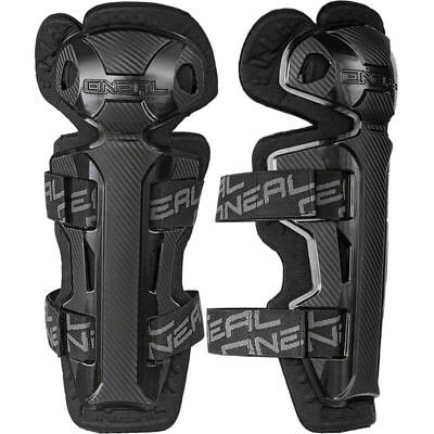 NEW Oneal Mx Kids Pro 2 BMX Dirt Bike Carbon Black Youth Motocross Knee Guards
