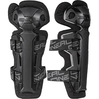 NEW Oneal Mx Adult Pro 2 BMX MTB Dirt Bike Carbon Black Motocross Knee Guards