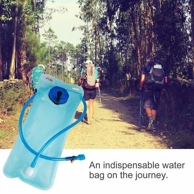 2L Bicycle Bike Cycling Mouth Water Bladder Bag Hydration Camping Sports Blue UR