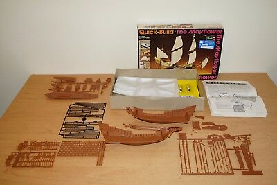 Revell Quick Build The Mayflower - H-307 - 1977 Made i Great Britain OVP (439/4)