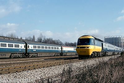 British Rail Class 253005 Old Oak Common March 1979 Rail Photo