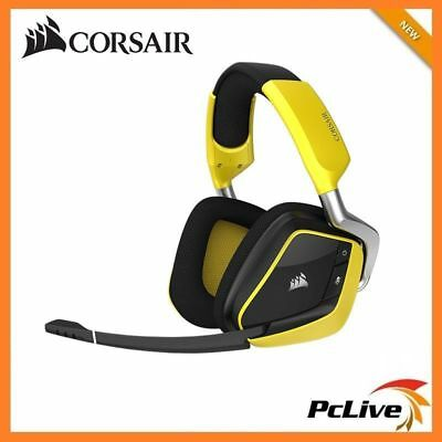 Corsair Void Pro RGB Wireless Special Edition Gaming Headset 7.1 Surround Yellow
